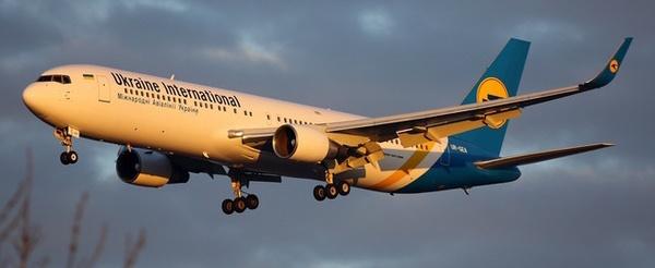 Ukraine airlines verlaagt capaciteit partner klm nog niet een boeing 767 van ukraine international publicscrutiny Images