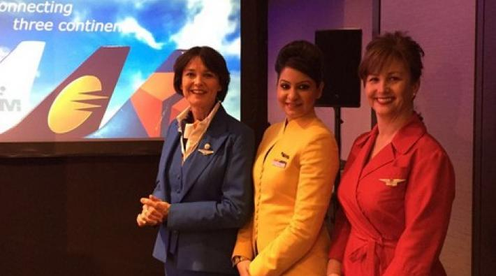 Jet Airways KLM Delta cooperation