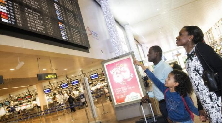 brussels airport, passagiers