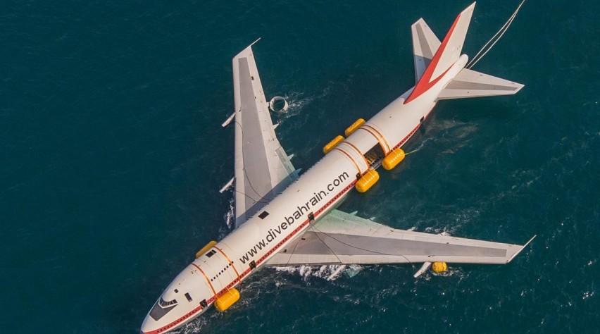 Dive Bahrain 747