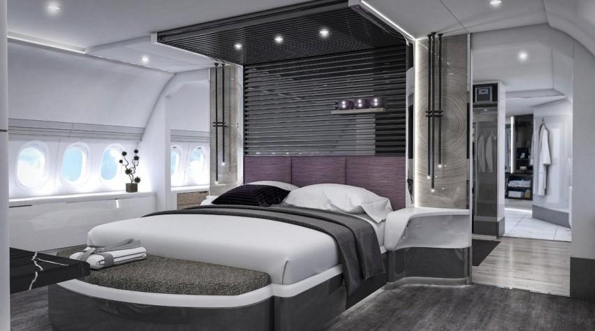 BBJ 777X slaapkamer