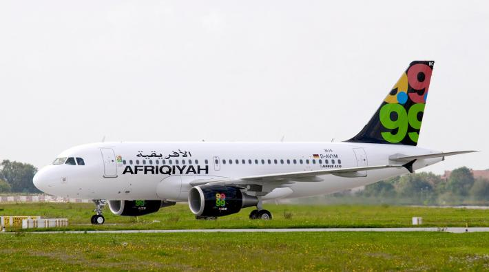 Afriqiyah Airways Airbus A319
