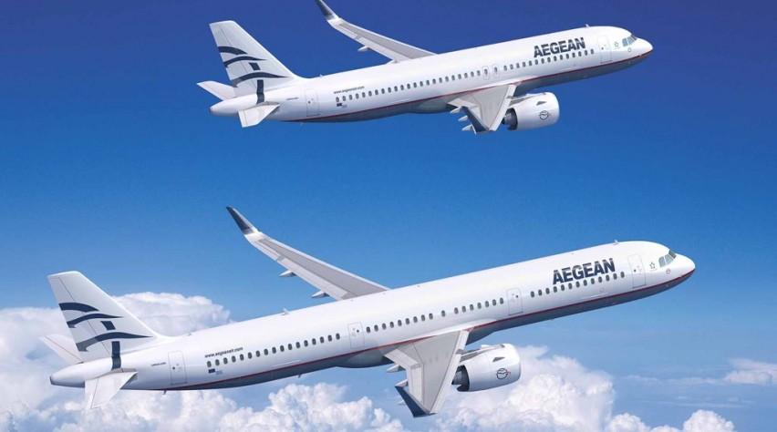 Aegean Airbus A320neo + A321neo