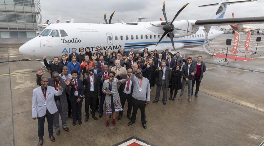 Air Botswana ATR 72-600