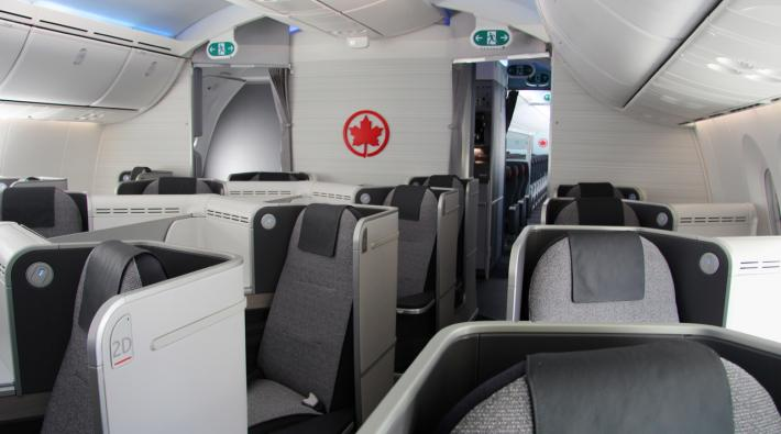 Air Canada 787 business