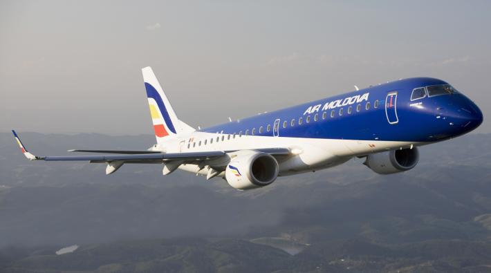 Air Moldova Embraer 190
