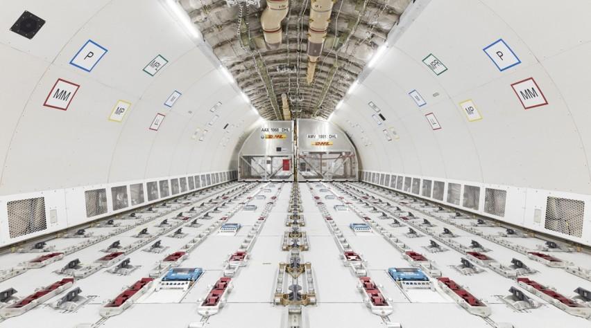 Airbus A330-200P2F cabin