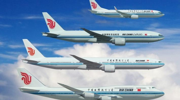 air china, boeing