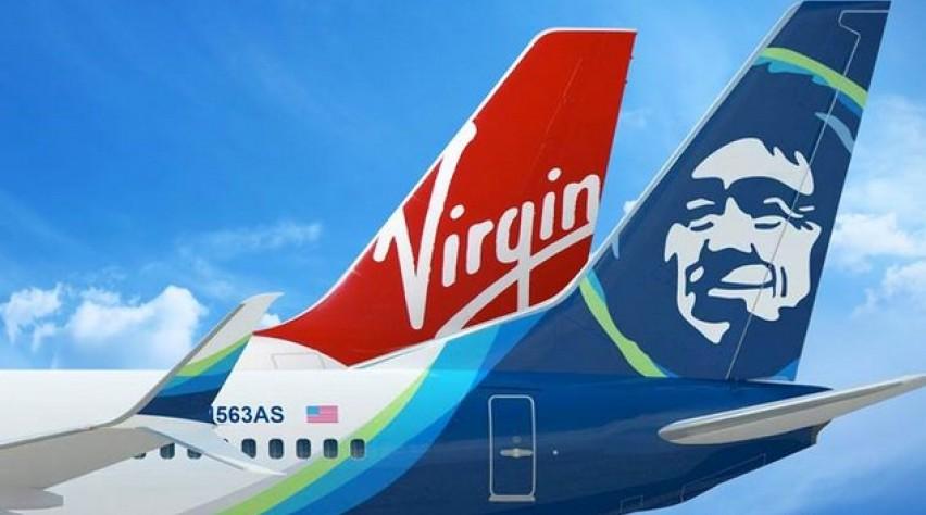 alaska airlines, virgin america, fusie