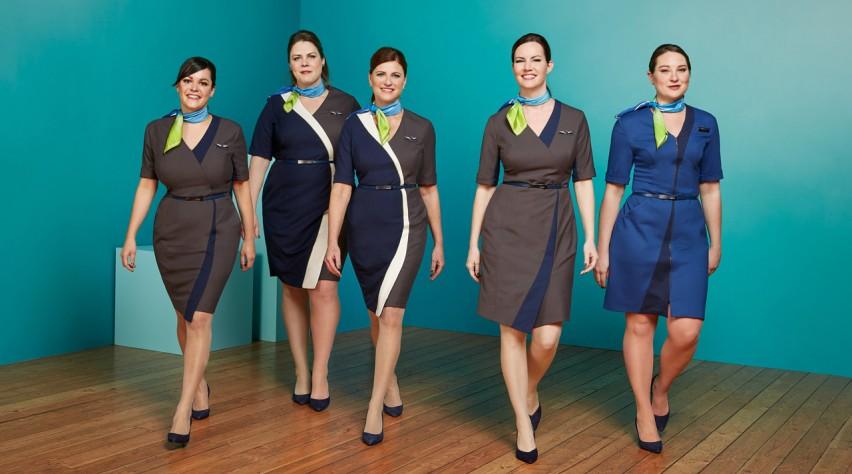 Alaska Airlines crew
