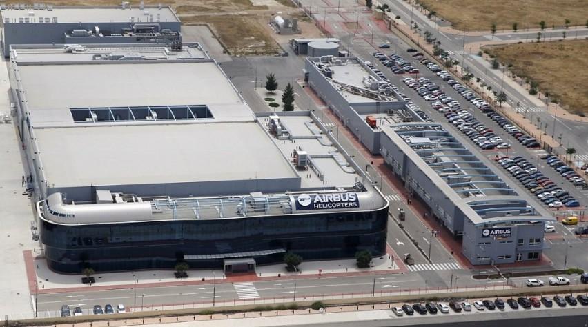 Albacete fabriek Airbus