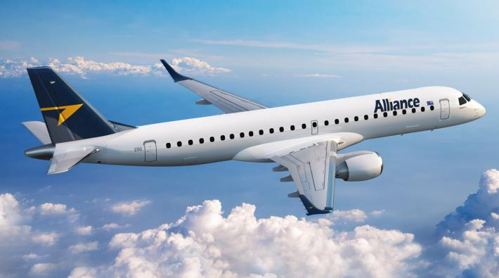 Alliance Airlines Embraer 190