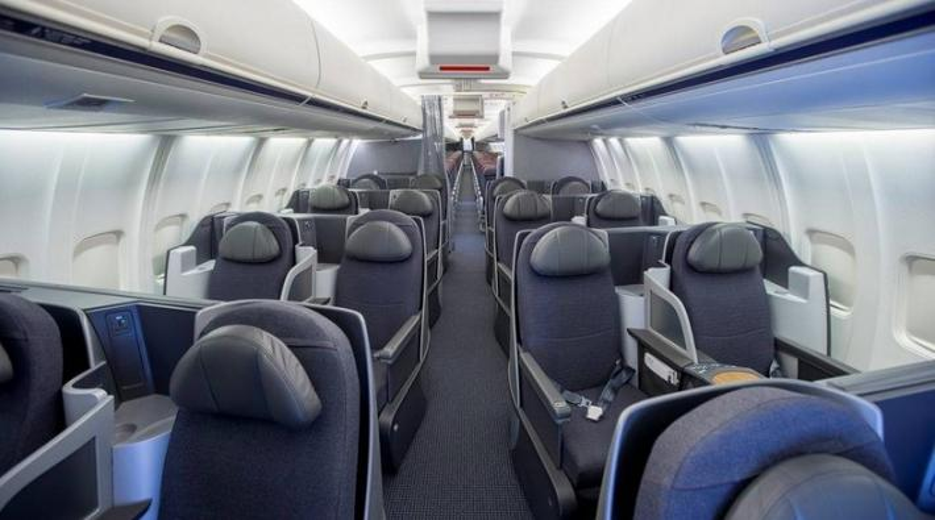 Nieuw interieur voor Boeing 757\'s van American Airlines ...
