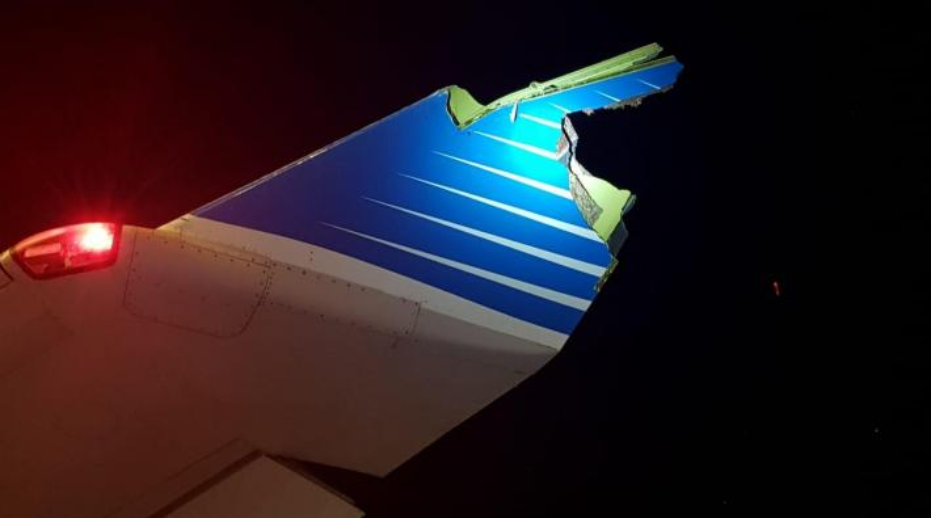 Argentinas A340-botsing