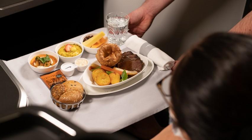 British Airways roast