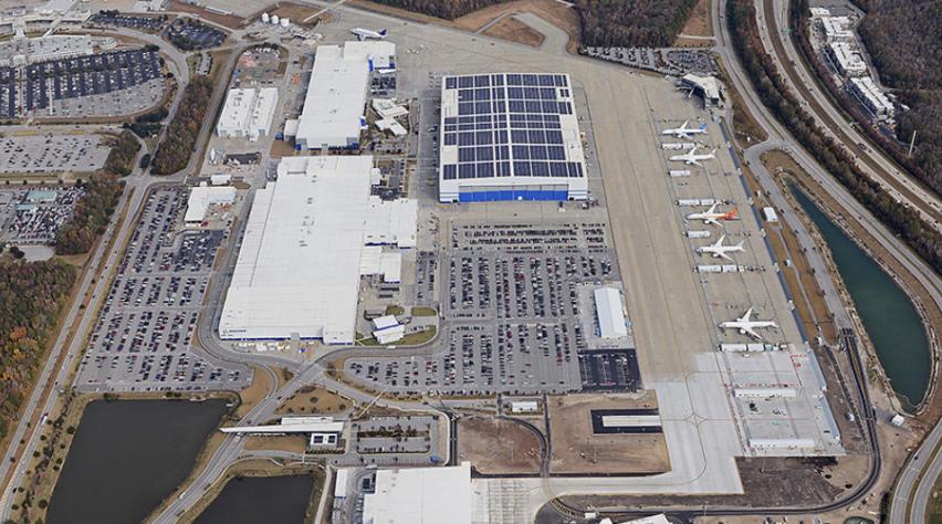 Boeing 787 fabriek Charleston