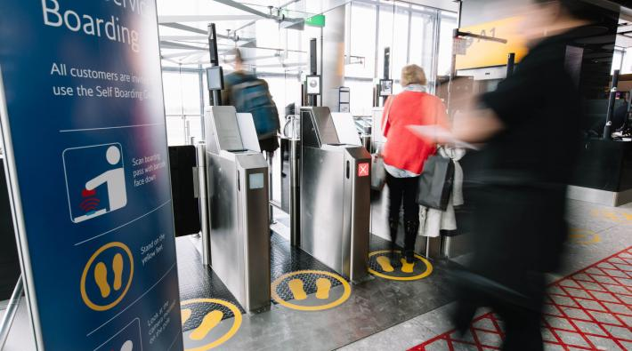 British Airways biometrisch boarden