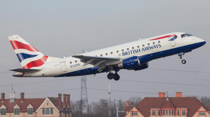 British Airways Embraer