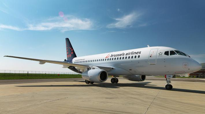 Brussels Airlines Sukhoi Superjet