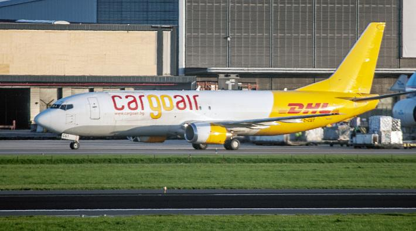 Cargo Air DHL 737-400SF