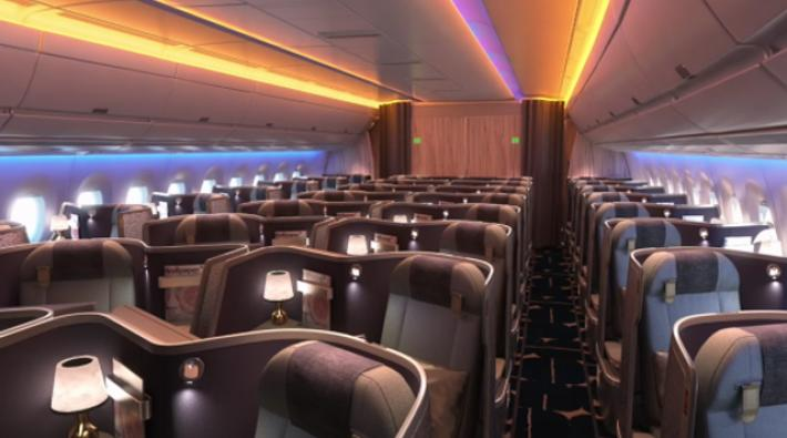 China airlines onthult interieur a350 luchtvaartnieuws for Interieur 777 300