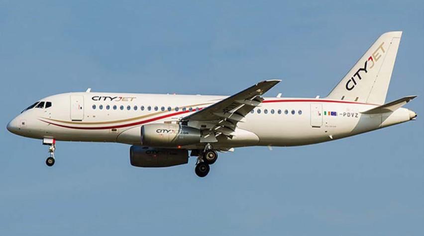 CityJet Sukhoi Superjet