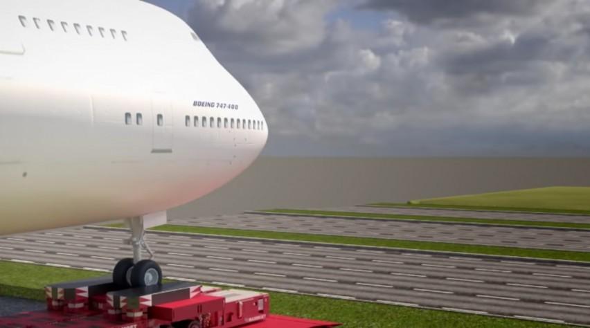 Corendon Boeing 747 snelweg