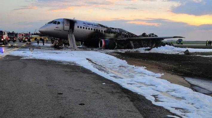 Superjet crash