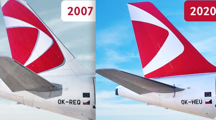 Czech Airlines new livery