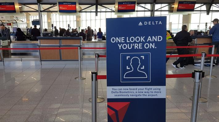 Delta Atlanta biometric