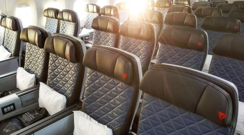 Delta A350 cabine