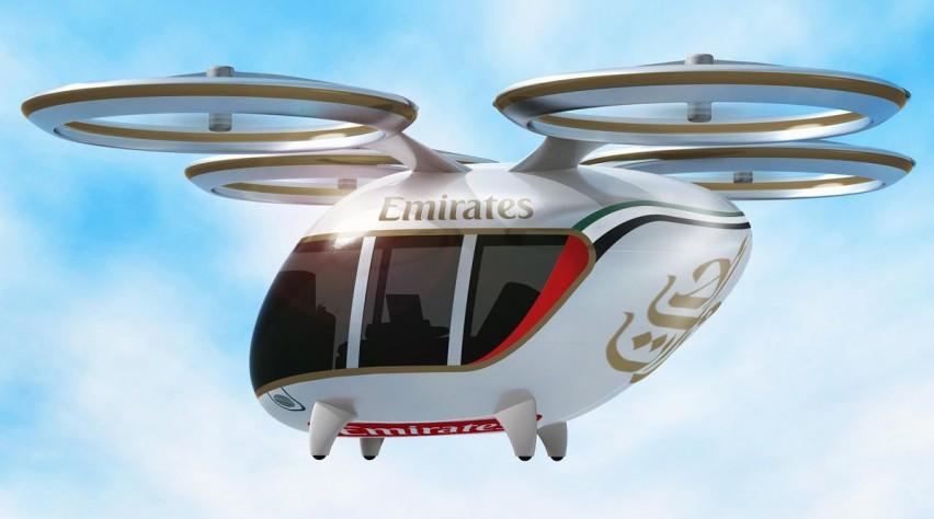 Emirates drone