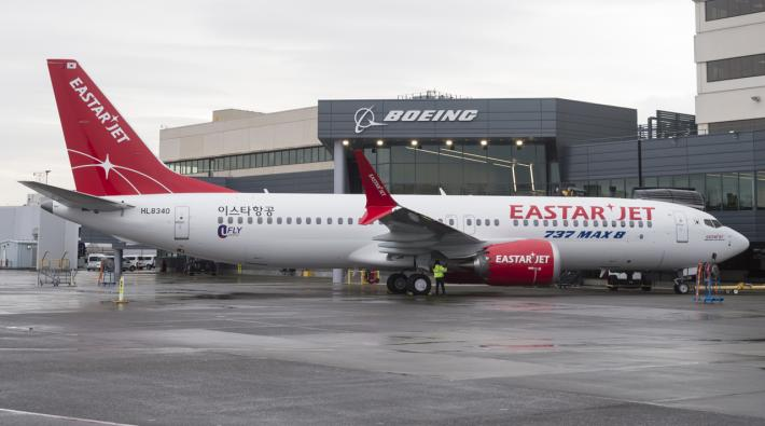 Eastar Jet Boeing 737 MAX 8