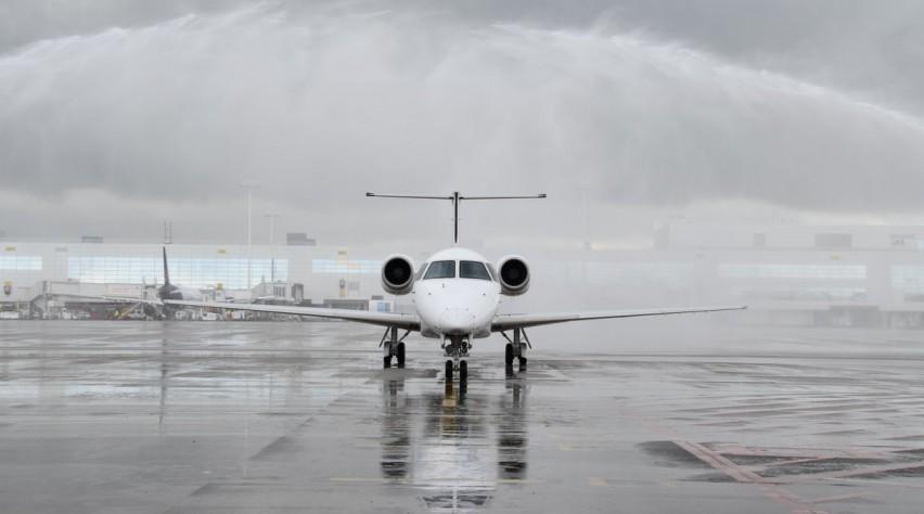 HOP Embraer 145 op Brussels Airport