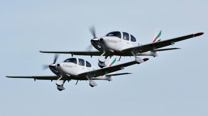 Emirates Cirrus SR22