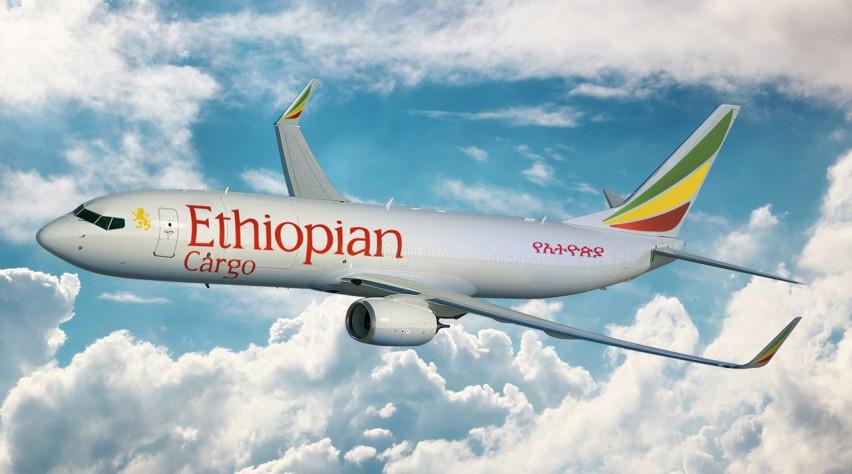 Ethiopian Airlines Boeing 737-800SF