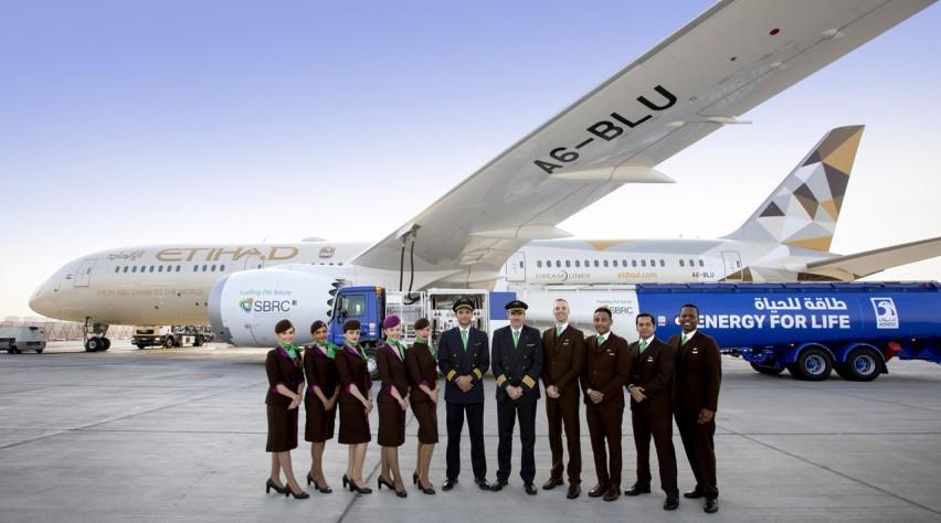 Etihad Airways biofuel