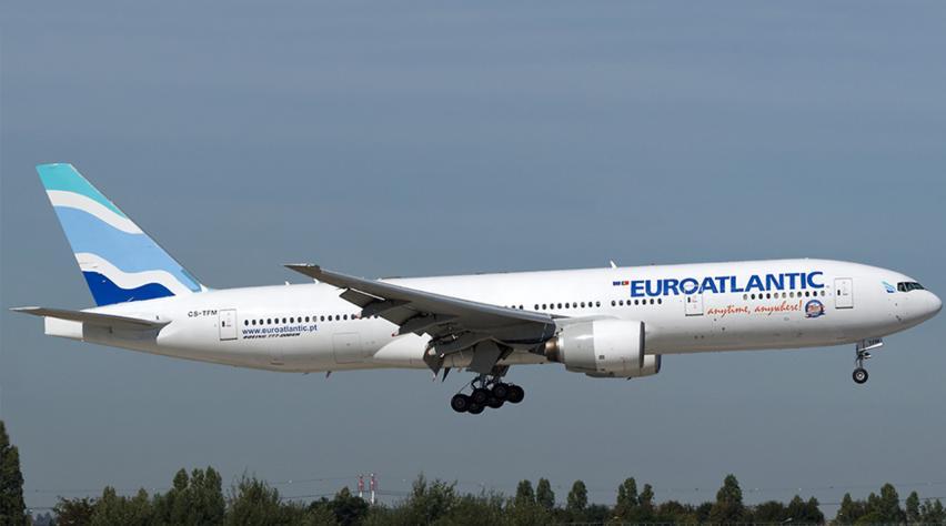 EuroAtlantic Airways Boeing 777-200ER