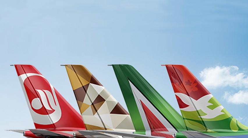 Etihad airberlin Alitalia Air Seychelles