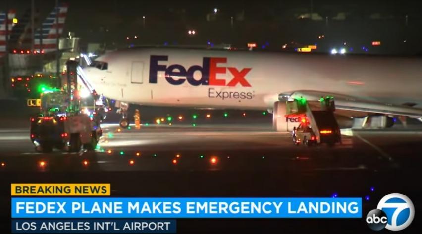 FedEx 767 incident Los Angeles