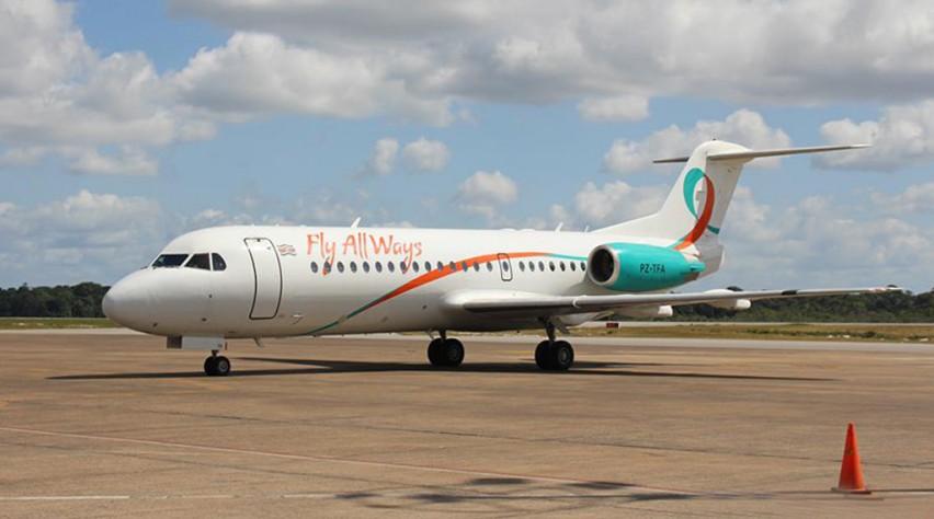 Fly Allways Fokker 70