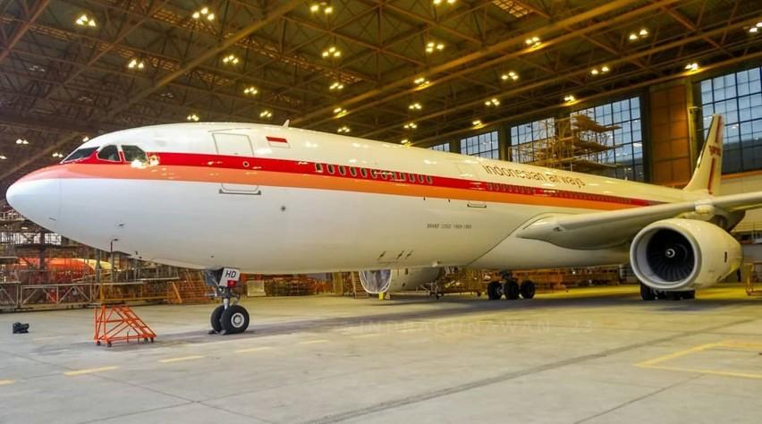 Garuda A330 retro