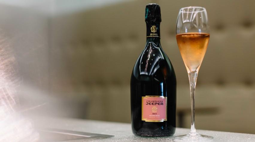 British Airways Jeepers champagne