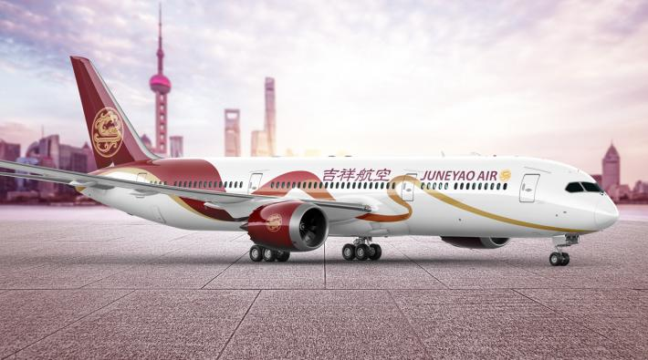Juneyao Airlines Boeing 787