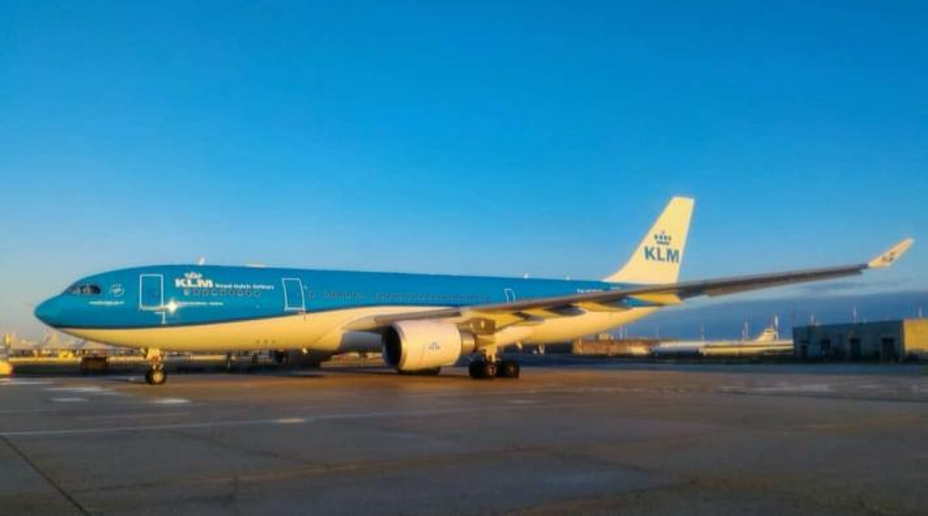 KLM A330 nieuw kleurenschema