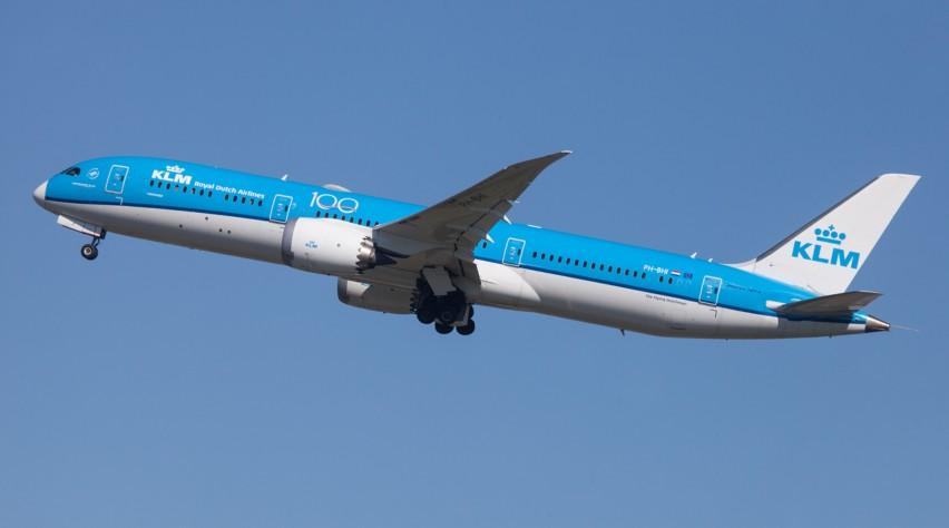 KLM 787 PH-BHI