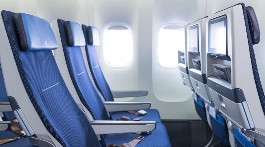 KLM stoelen