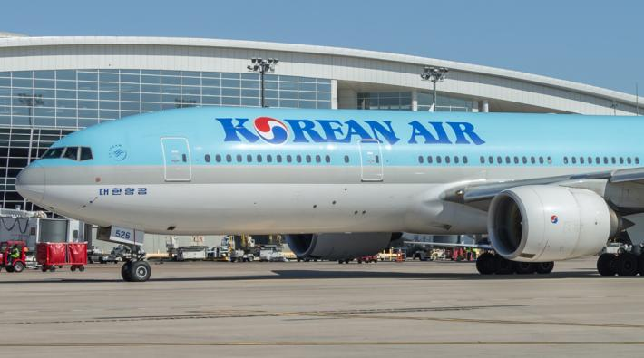 Korean Air Boeing 777