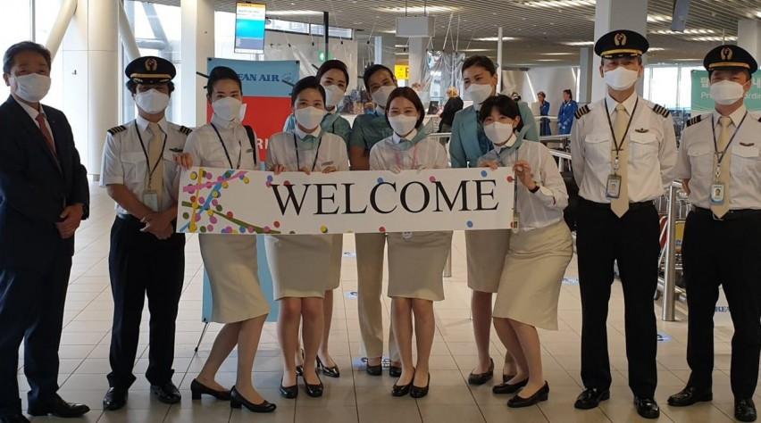 Korean Air terug