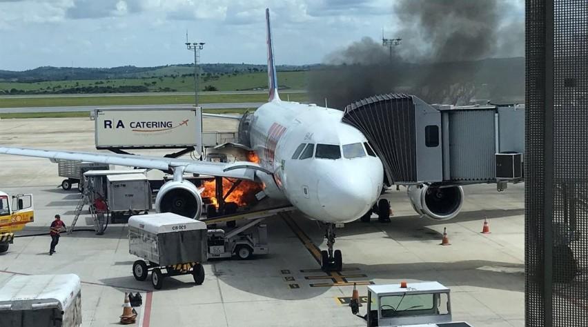 LATAM A320 brandschade